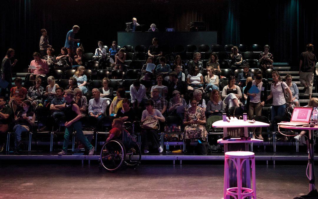 LABOR FÜR INKLUSIVE KULTUR – Arbeit im Kulturbereich für Menschen mit Behinderung