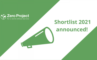 We are nominated for the ZERO PROJECT AWARD 2021!