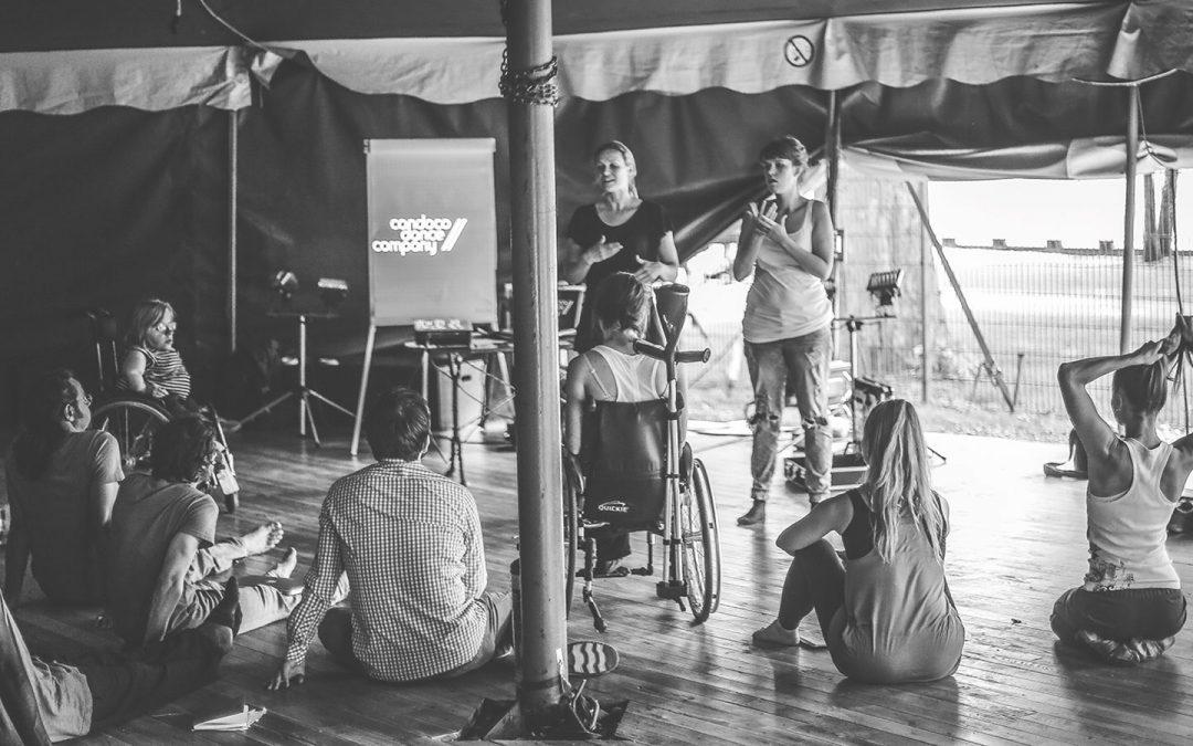 Train the Trainer Workshop mit der Candoco Dance Company