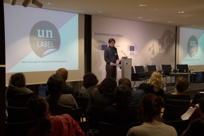 Un-Label beim EU Creative Europe Showcase in Berlin