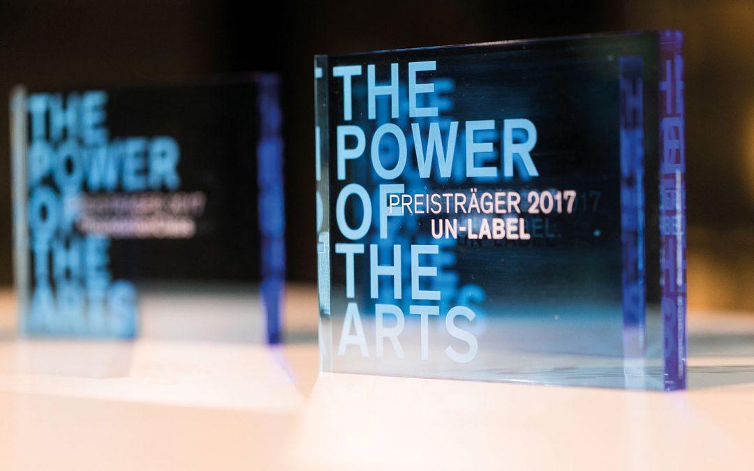 Wir sind nominiert für den Award The Power of the Arts!