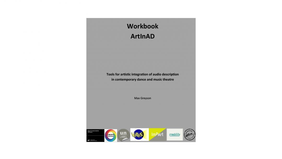 The workbook ArtInAD for artistically integrated audio description