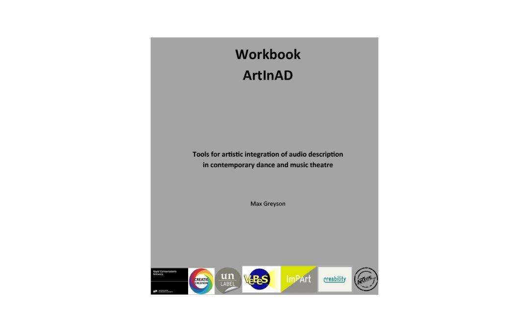 Arbeitsbuch ArtInAD zur künstlerisch integrierten Audiodeskription