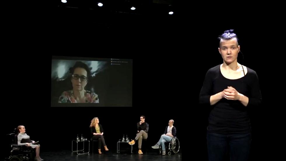 Screenshot aus dem Projektfilm zum dritten Inklusionskulturtag am 22. Mai 2021
